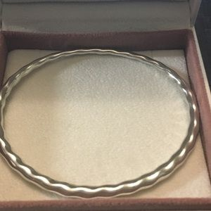 Retired Pandora Flow bangle bracelet